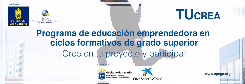 Programa Tucrea Para Proyectos Emprendedores De Estudiantes