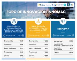 Foro innovación innomac programa